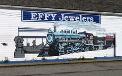 Mural on store wall