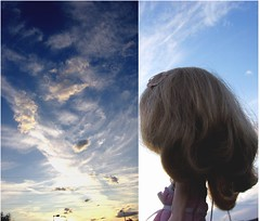 Ginny and Sky -dolly diptych weekly thirty four-