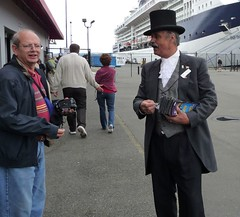 Victorian greeter