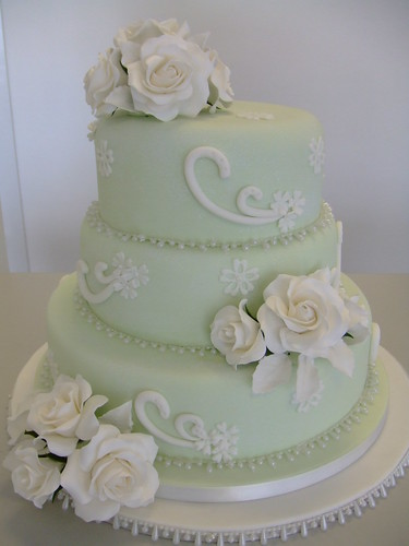 Vintage wedding cake by wwwcakechestercouk by CAKE Chester