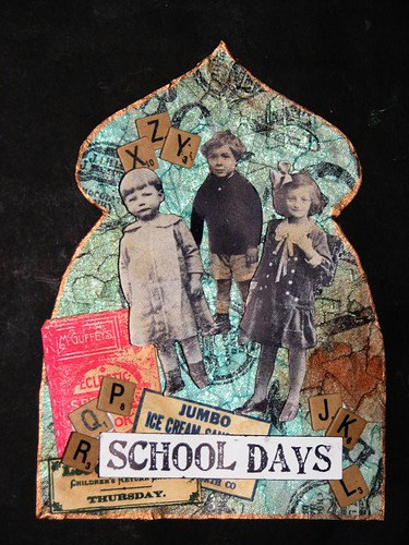 School Days Fancy Gothic Arch 012