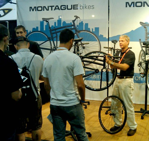 Montague Booth at Interbike!