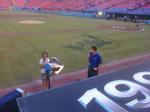 From behind the dugout, @kburkhardtsny