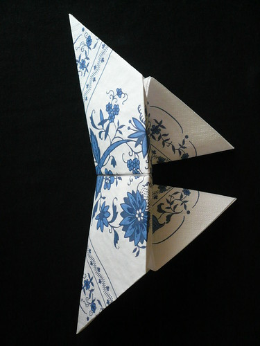 Origami Butterfly Paper Napkin