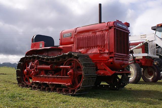 1935 McCormick Deering T20 Crawler.