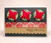 Origami Ninja Star Christmas Card