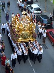 El Rosario de la Aurora. Detalle