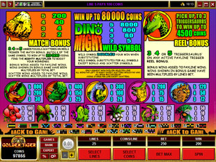 free Dino Might slot mini symbol
