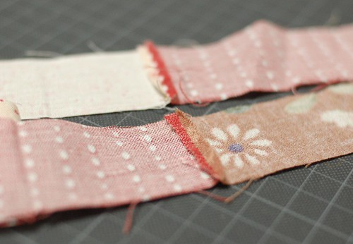 How to make a patchwork Lanyard 3