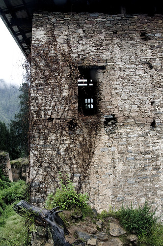 The remains of Drukygel Dzong