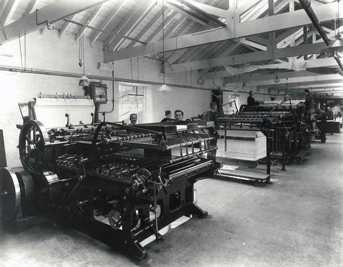 Print room at Oliver & Boyd