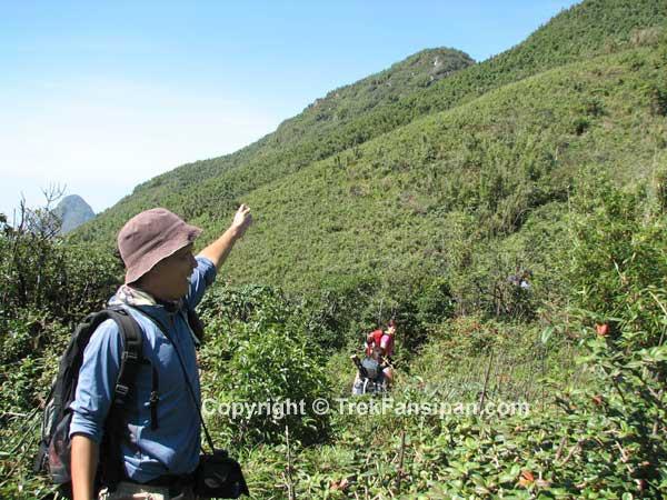 Trekking Fansipan Mt, Sapa, Vietnam