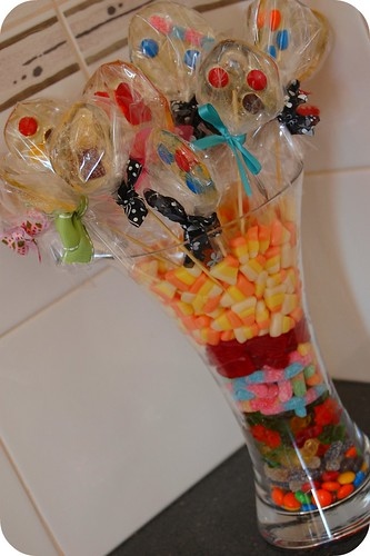 My candy bouquet