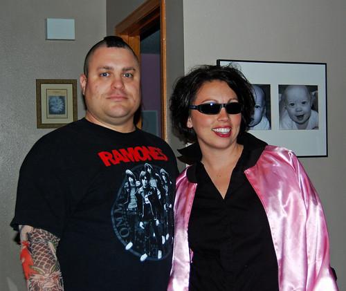 Punk Rocker and Pink Lady