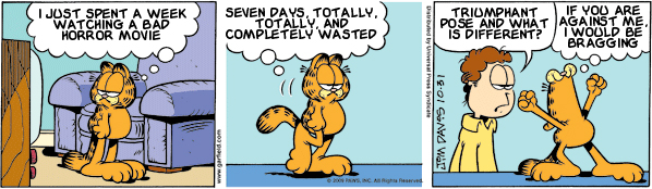 Garfield: Lost in Translation, October 31, 2009