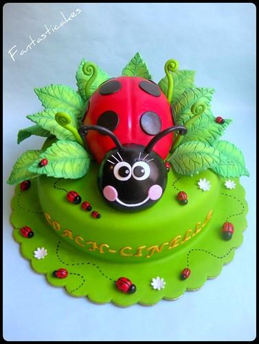 Torta Coccinella /Ladybug Cake