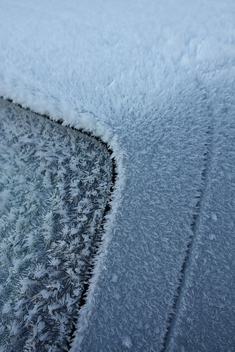 Frozen car boot