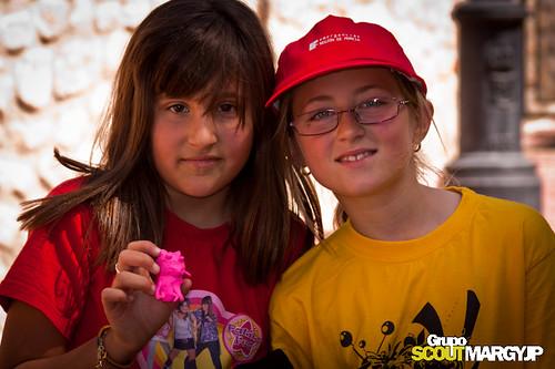 Acampada en Villanueva del Segura - Murcia - CreaScout 2011