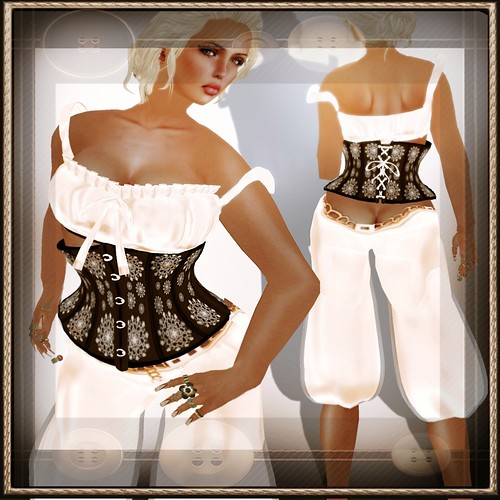 A&A Fashion Full Sculpted Outfit Susi Creme