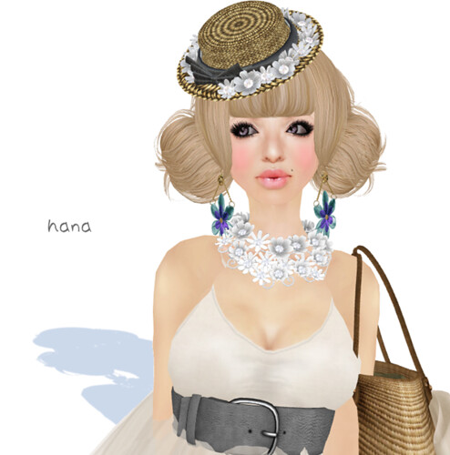 NHA!Earrings Viola  Gift of  June