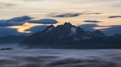 long exposure pilatus (mitsch_photography) Tags: switzerland moutain sunset clouds long exposure lucerne luzern pilatus