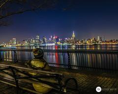 Hoboken - New Jersey - USA -> Instagram : @rodlilo (rgm_fotografia) Tags: eua usa longexpo longaexposição longexposure hoboken new jersey newyork newjersey night noite city cidade citylight light river trip travel vacation nikon d3300 lightroom