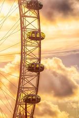 The Eye (Joyce Dela Paz) Tags: londoneye timeoutlondon london visitlondon sunset