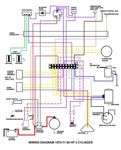Mariner 60 Hp Wiring Diagram | Wiring Diagram on