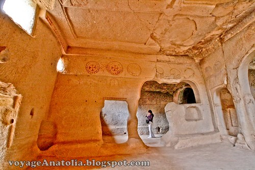 Rock Monastery at Cappadocia by voyageAnatolia.blogspot.com