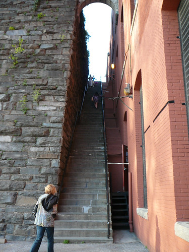 The exorcist stairs