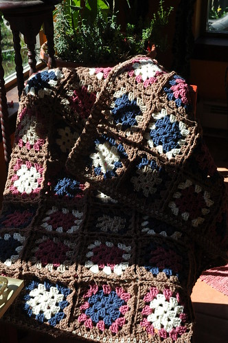 Second Granny Square Afghan