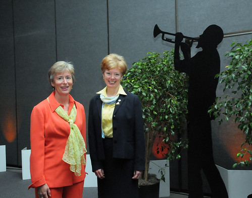 Mel Bolen and Deb Pierce at NAFSA 2009