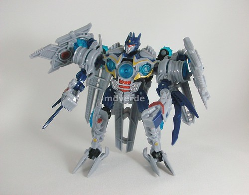 Transformers Soundwave RotF Deluxe - modo robot