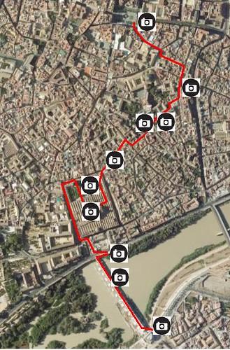 Un posible itinerario de los Nabis en su paseo por Córdoba