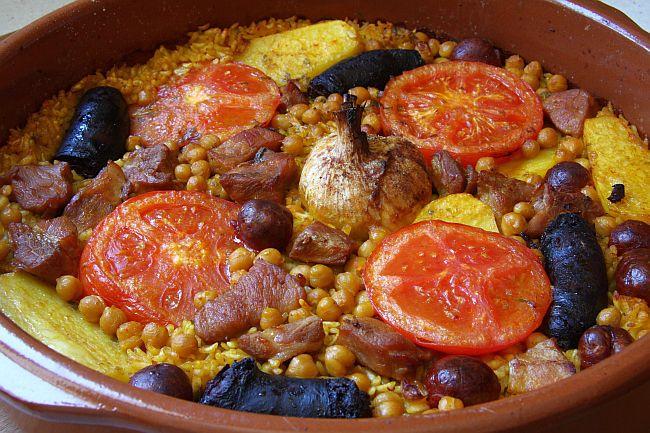 arroces típicos valencianos arroz al horno