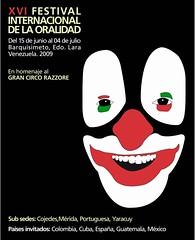 XVI Festival Internacinal de la Oralidad