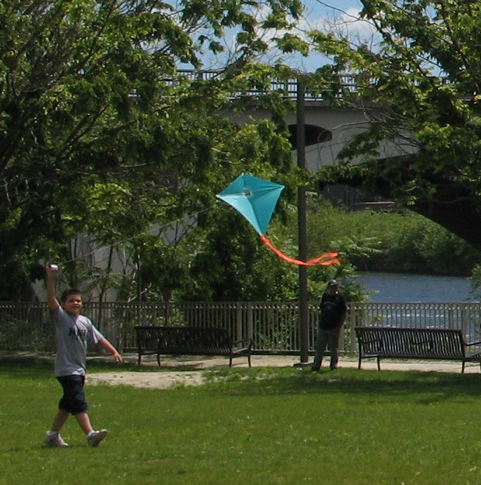 Kite Festival high flyer