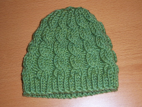Cabled Baby Hat Free Knitting Pattern from the Baby hats Free Knitting Patter...