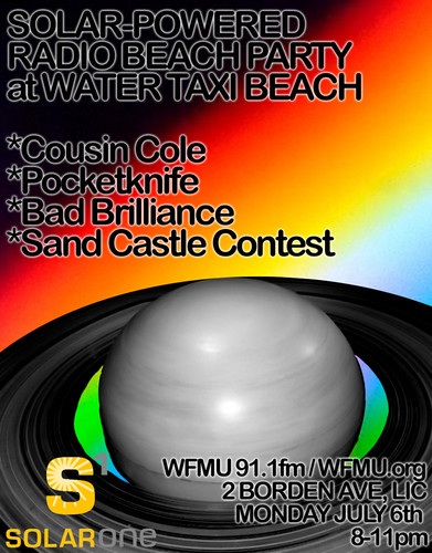 Solar-Powered Beach Radio Party 7/6
