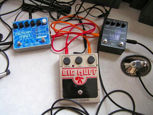 New pedal setup