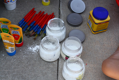 chalk paint mixing