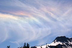 Colored Clouds (Catsbow) Tags: cloud mtbaker cirrus coloredclouds explore7209412