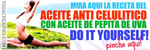 Aceite Anti Celulitis, Receta por ti.