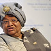 President Ellen Johnson-Sirleaf of the Republic of Liberia in West Africa.