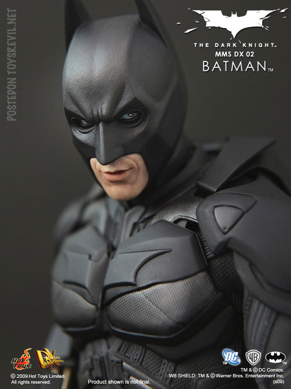 Mms Dx 02 The Dark Knight 1 6th Scale Batman Collectible Figure By Hot Toys
