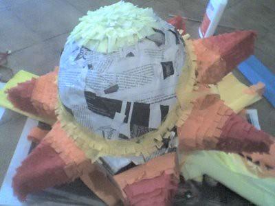 La primera piñata