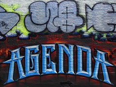 Agenda by Abel, &  MQ MSK WCA LosAngeles Graffiti Art