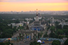 2007-06-29_2226-50 View from Cosmos Hotel in Moscow (gunzel412) Tags: russia moskou rus