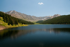 Clinton Lake, outside Vail, Colorado