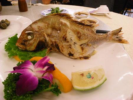 烤魚(ㄍㄚ ㄌㄤ)
